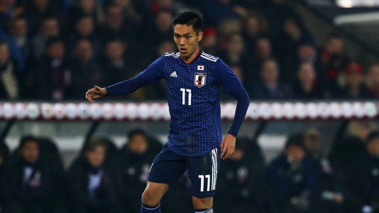 Gent's Yuya Kubo turning out for Japan