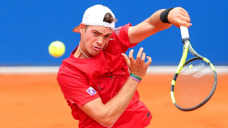 Max Marterer has been well supported to reach the semis