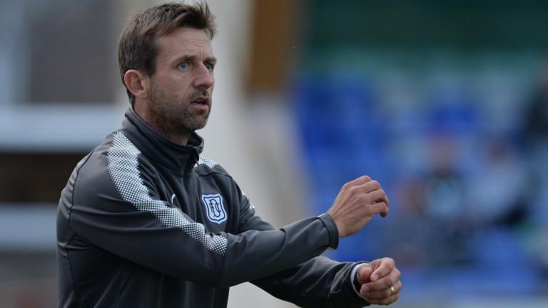 Dundee manager Neil McCann