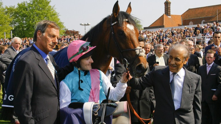 Connections celebrate Frankel's success in the 2,000 Guineas