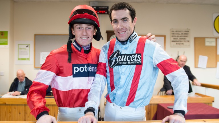 Sam Twiston-Davies and Aidan Coleman enjoyed a third trip to Vegas with Richie McLernon