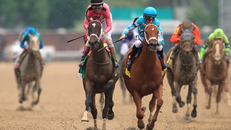 Wonder Gadot (pink silks): Kentucky Oaks runner-up is another star pupil for Anderson Farms
