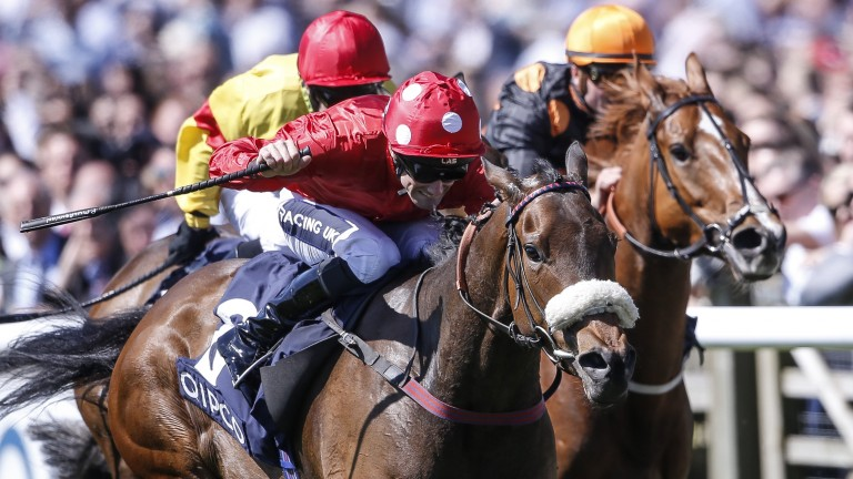 Mabs Cross becomes an 11th Group winner for Ducth Art with success in the Palace House Stakes