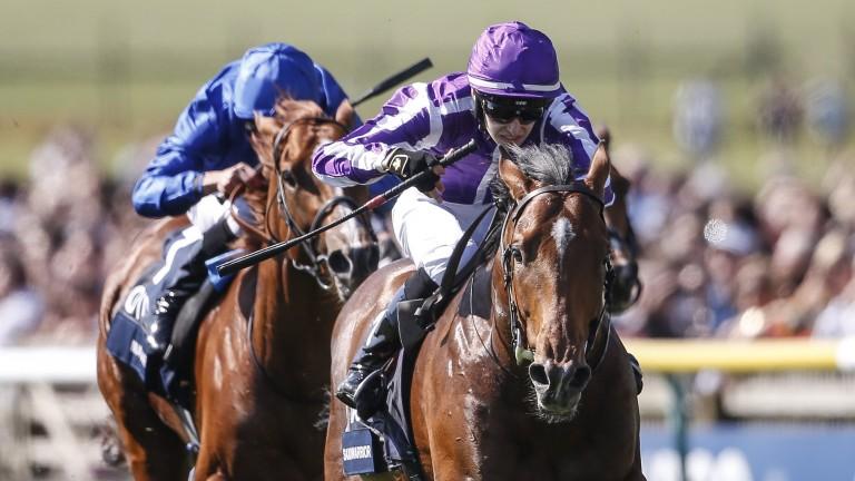 Saxon Warrior runs out a smooth winner of the 2,000 Guineas under Donnacha O'Brien