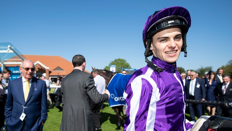Donnacha O'Brien: can win the Investec Oaks aboard Forever Together