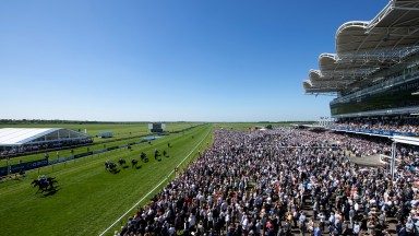 It feels like summer at last: what a sight on the Rowley Mile as a packed crowd watches the opener