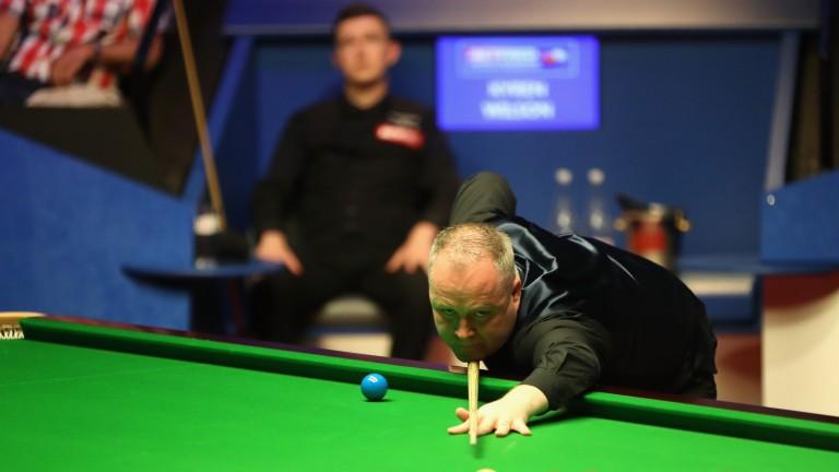 John Higgins on his way to semi-final victory over Kyren Wilson