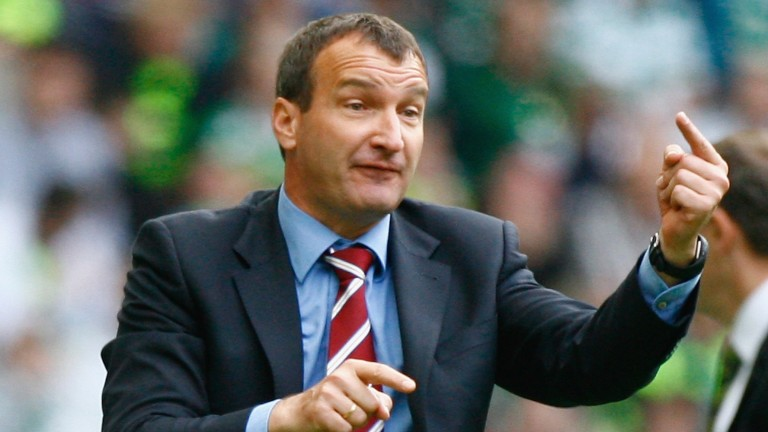 Csaba Laszlo and Dundee United face a tricky first leg