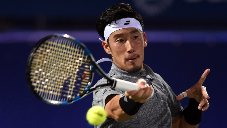 Yuichi Sugita could make Philipp Kohlschreiber toil in their Madrid opener