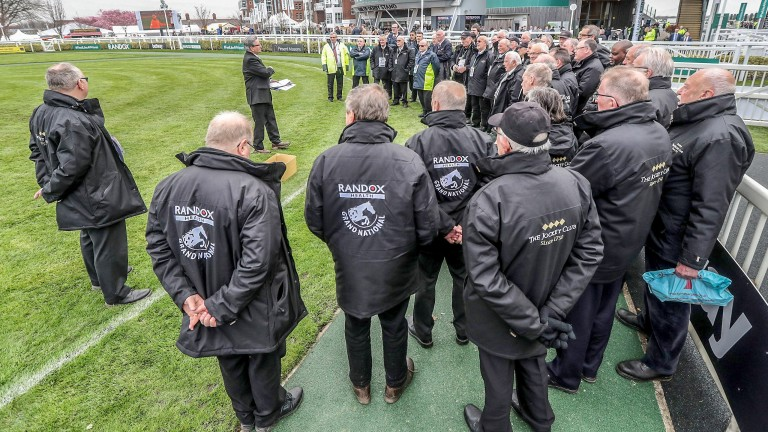 Aintree's security are briefed at the start of the Grand National meeting. Security was obviously strong there, but should it be beefed up at meetings generally?