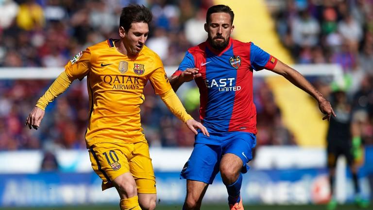 Jose Luis Morales (right) is Levante's biggest threat