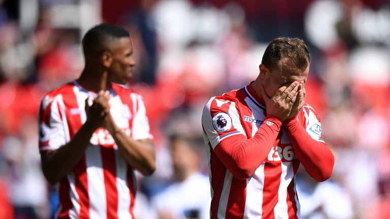 Defeat to Crystal Palace at the weekend sealed Stoke's relegation