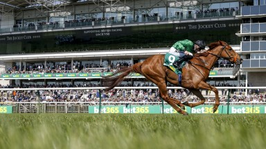 Anna Nerium wins the bet365 European Free Handicap Stakes at Newmarket