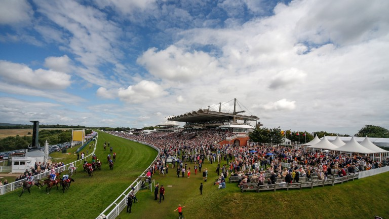 Goodwood: a dry evening forecast prior to day three on Thursday