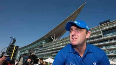 Charlie Appleby at Meydan: the turf track is the best in the world