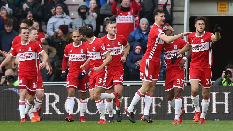 Middlesbrough could have plenty to celebrate