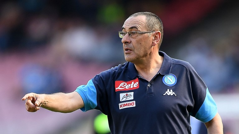Napoli boss Maurizio Sarri