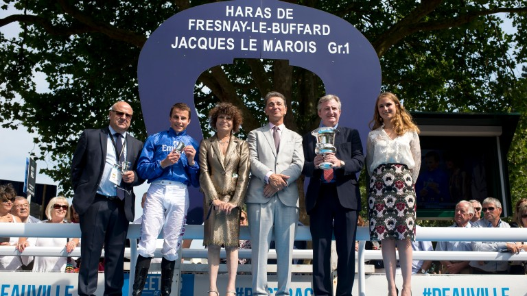 Richard Fahey (left) has enjoyed some of his biggest triumphs in France