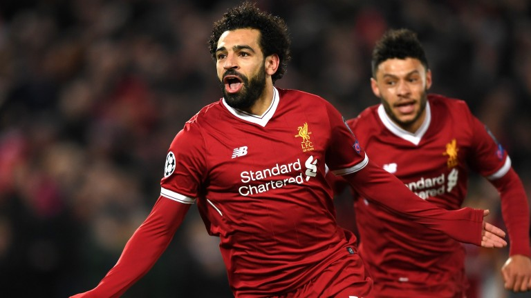 Mohamed Salah of Liverpool has 31 goals to his name