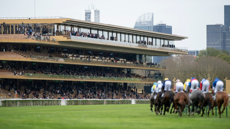Longchamp: racing will take place on the outer course as a precautionary measure