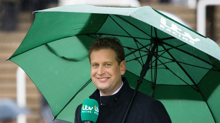 Ed Chamberlin: surprised but delighted at ITV Racing winning the Bafta