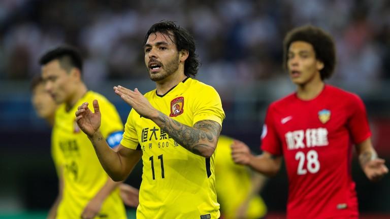 Guangzhou Evergrande's Ricardo Goulart
