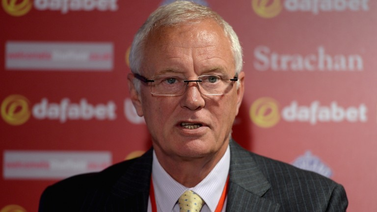 Sports promoter Barry Hearn: sickened by recent violent scenes at Goodwood and Ascot