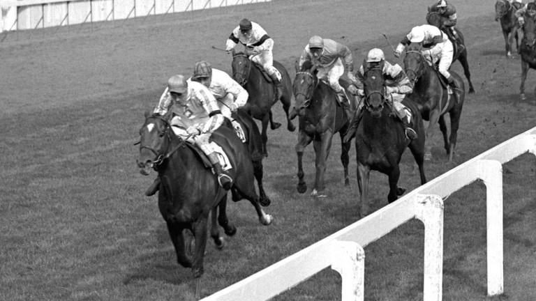 Burns lands the 1957 for Vincent O'Brien on Ballymoss