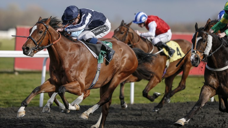 Crowned Eagle and Daniel Muscutt land the Rosebery Handicap (Photo by Alan Crowhurst/Getty Images)