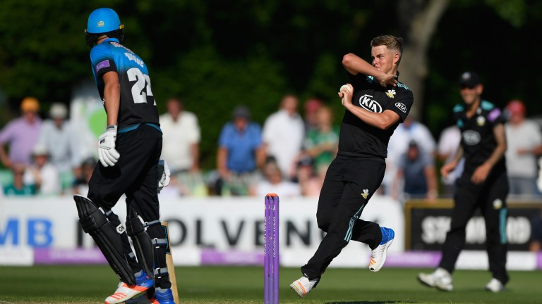 Surrey seamer Sam Curran is developing into a fine cricketer