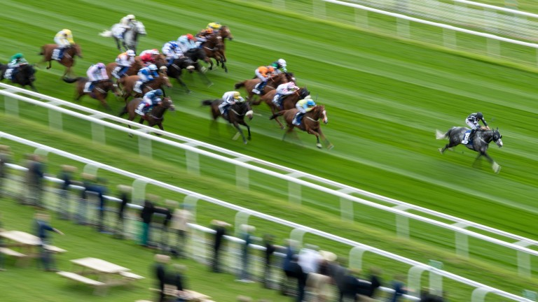 George Bowen: scorched clear of his rivals at York last week