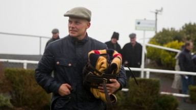 Adrian Maguire, trainer of Davinia's Tip Tramore Photo: Patrick McCann 01.01.2015