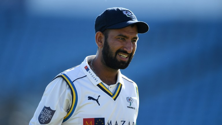 Cheteshwar Pujara of Yorkshire