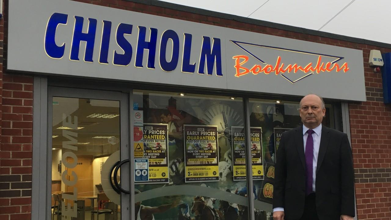Chisholm betting shop news baseball betting tools