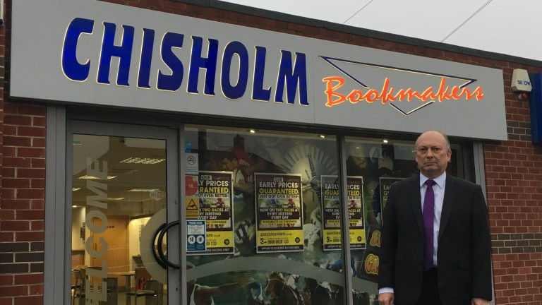 Howard Chisholm: managing director of north-east independents Chisholm Bookmakers