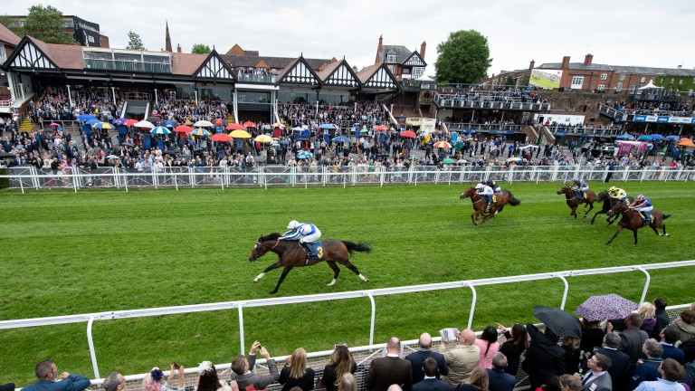 Chief Ironside: bolted up in a 1m2f maiden around Chester when last seen
