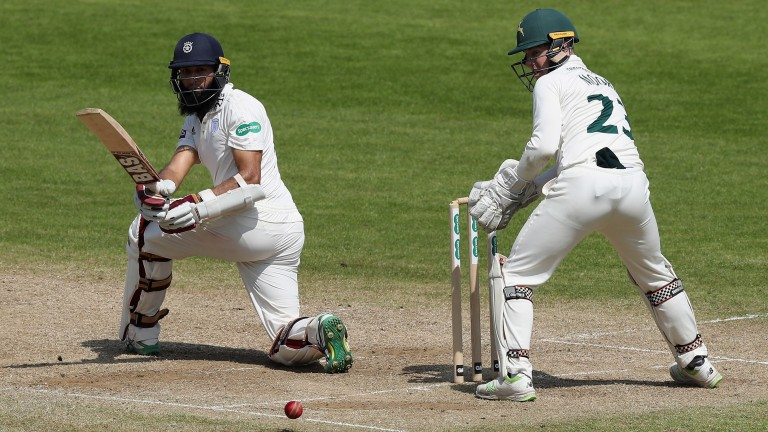 Hashim Amla has shown his class for Hampshire in the County Championship