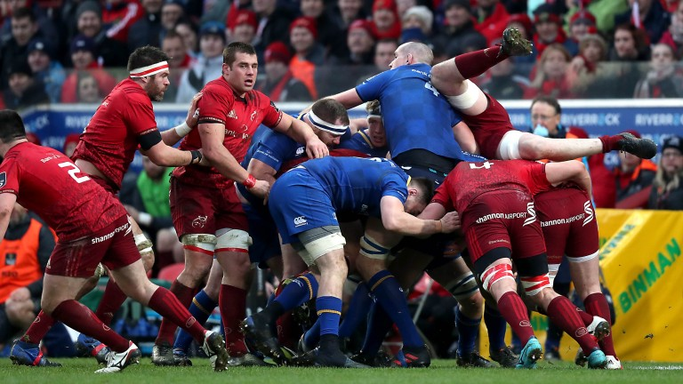 Leinster and Munster look set for another fierce battle