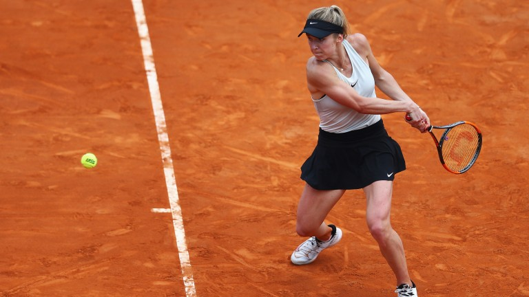 Elina Svitolina has been performing at the top of her game in Italy