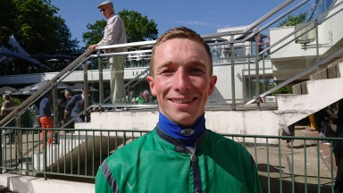 Benjamin Gelhay struck for racing's smaller players when guiding Wildriver to victory in the Grade 1 Prix Alain du Breil