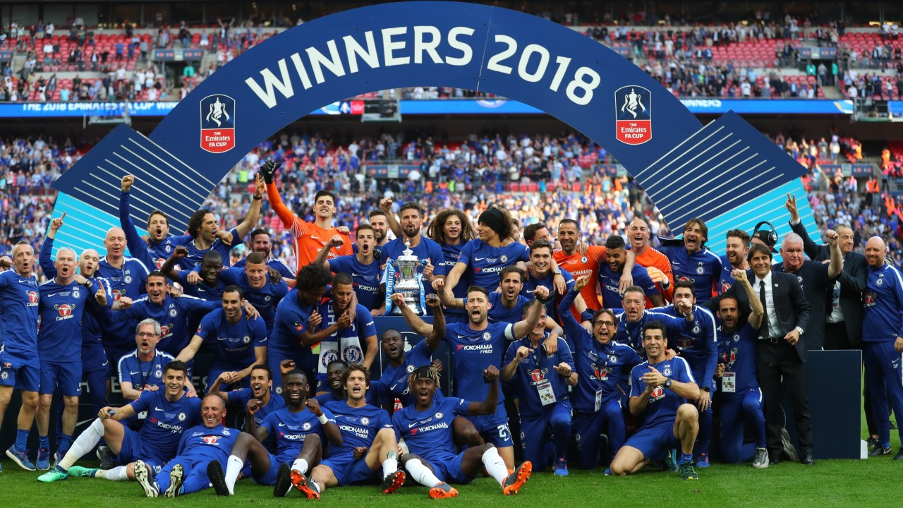 Eden Hazard wins the FA Cup for Chelsea   Sport News ...