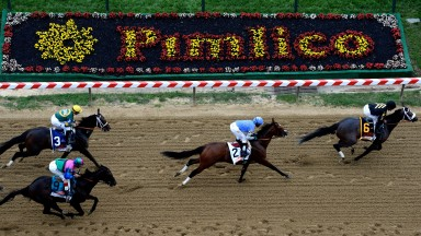 Pimlico: home of the Preakness Stakes, the middle leg of the US Triple Crown