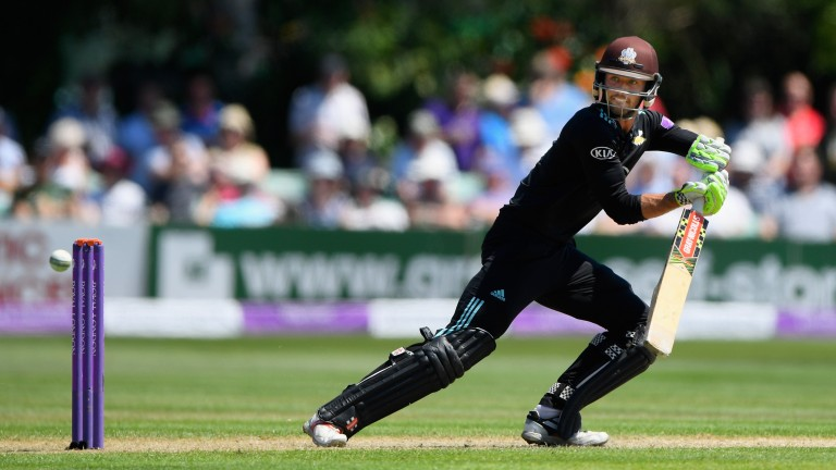 Ben Foakes topped Surrey's batting averages on their way to the One-Day Cup final in 2017