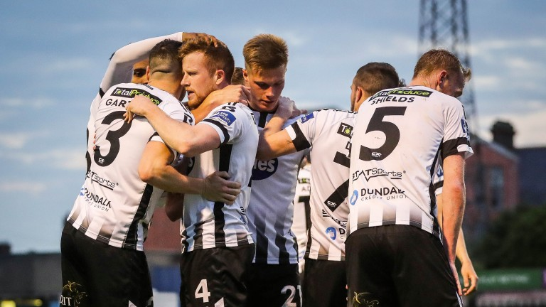 Dundalk are closing in on the League of Ireland title