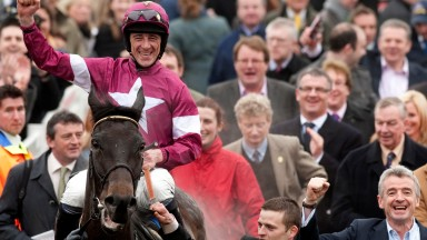 Sir Des Champs: after winning the Jewson Novices Chase in 2012