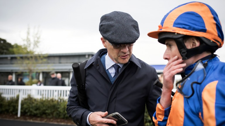 Debrief: Ryan Moore and Aidan O'Brien are deep in conversation after Sioux Nation's success
