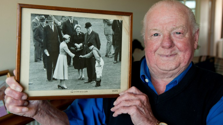 Willie Snaith: the former royal jockey is 90 on Wednesday