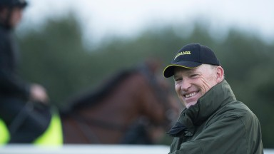 John Gosden, pictured at his Clarehaven Stables, has been a trainer since 1979