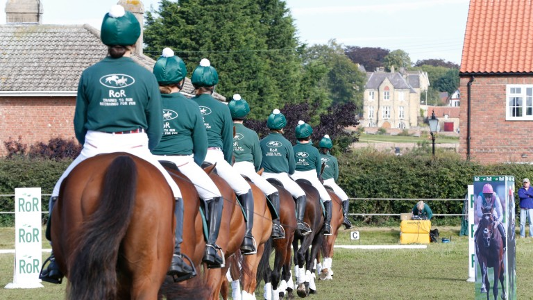 Retraining of Racehorses: more than 13,000 horses are registered with the charity