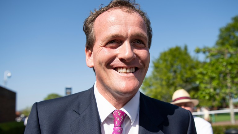Richard Hannon: trainer of Ateem